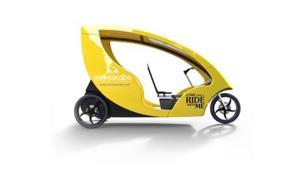 Your e-rickshaw has arrived