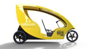 Your e-rickshaw has arrived