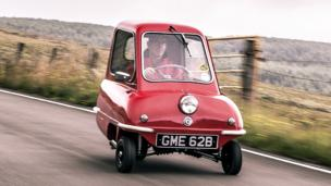 Driving the world's smallest car