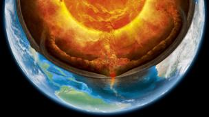 It is so hot inside the Earth, rock melts (Credit: Claus Lunau / Science Photo Library)