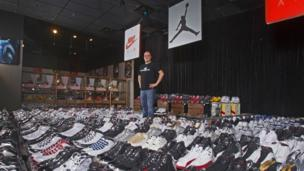 The man with 2,388 pairs of shoes