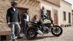 Ducati's retro thrill machine