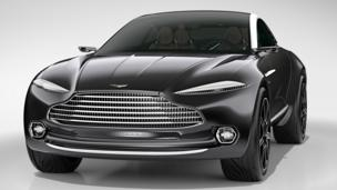 Aston 4x4 shocks Geneva