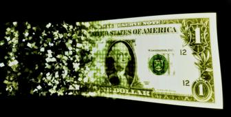Digitised dollar bill