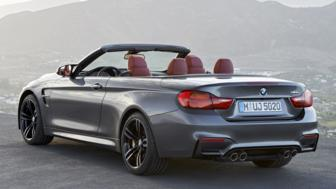 This is the BMW M4 Convertible