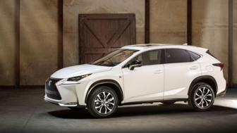 Lexus NX takes aim at BMW X3