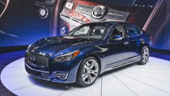 Outsize luxury, from Infiniti