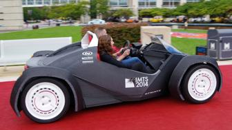 Coming soon: The 3-D printed car