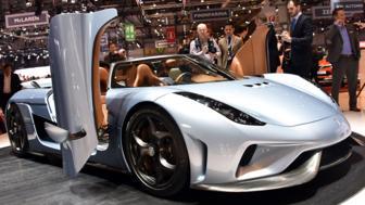 Top 10 cars at Geneva