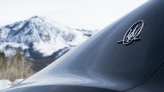 Maserati on the mountaintop?