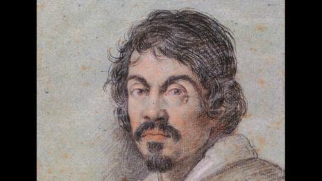 Portrait of Caravaggio by Ottavio Leoni (WikiMedia)