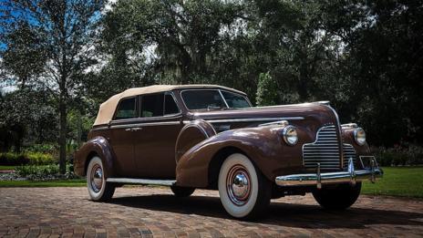 1940 Buick Phaeton from Casablanca