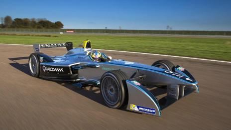Spark-Renault electric racecar