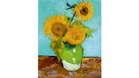 The first Arles Sunflowers painting is privately owned. It hasn't been shown since 1948.