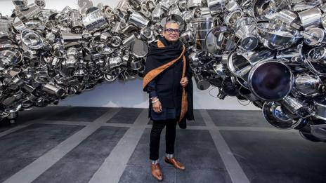 Everything is Inside, Subodh Gupta (Graham Crouch/Getty)