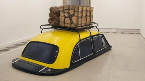 Taxi, Subodh Gupta (Photo: Graham Crouch/Getty)