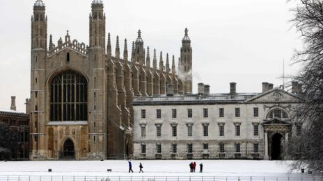 King's College, Cambridge (Rex Features)