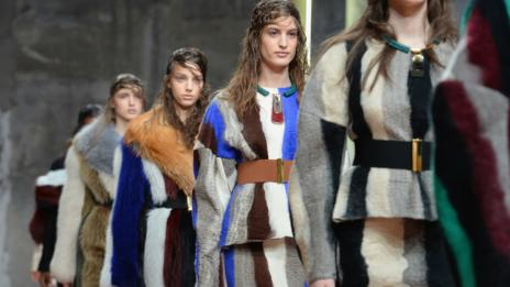 Exaggerated proportions at Marni (Getty Images)