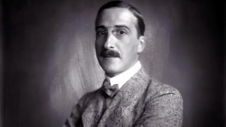 Zweig in 1920 (Imagno/Getty Images)