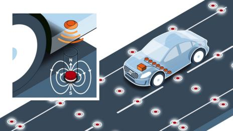 Volvo: magnets will make autonomous cars safer