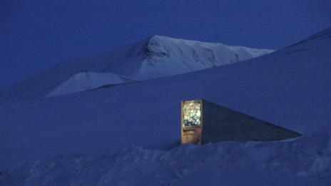 (Mari Tefre/Svalbard Globale Seed Vault)