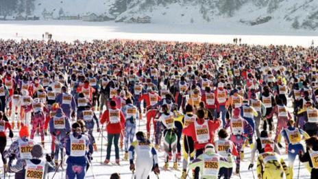 Skiiers (Walter Bieri/AP)