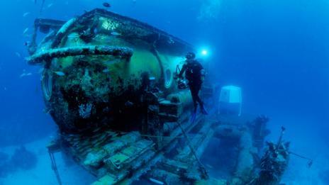 Aquarius underwater lab (Getty Images)