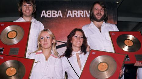 Abba, 1976 (Andre Csillag/REX)
