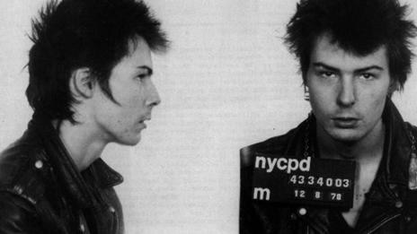 Sid Vicious mugshot, 1978 (Michael Ochs Archives/Getty Images)