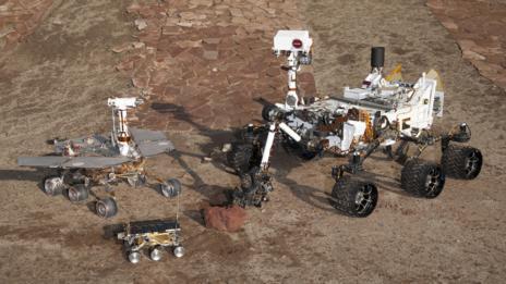 Three rovers.