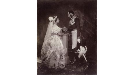 Queen Victoria and Prince Albert's wedding in 1840 (Wikimedia Foundation)