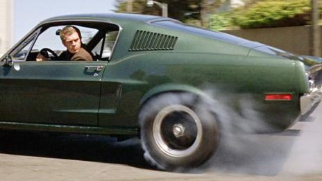 Still from Bullitt (Warner Brothers)