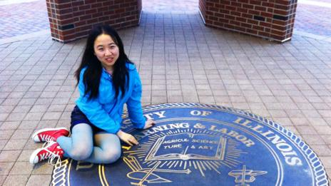 Paying for university in the US is expensive for Candice Zhang's family. (Candice Zhang)