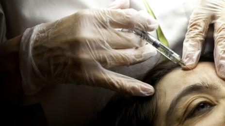Botox, a solution for some who wish to stave off the signs of ageing (SPL)