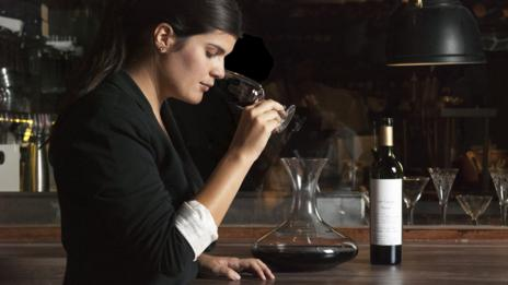 Agustina de Alba, a top sommelier in Buenos Aires, goes beyond Malbec. (Pablo Baracat)