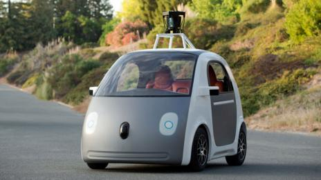 Google's new driverless car prototype was unveiled today (Google)