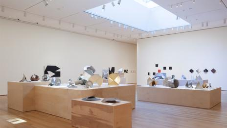 Installation view at Lygia Clakr's MoMA exhibition
