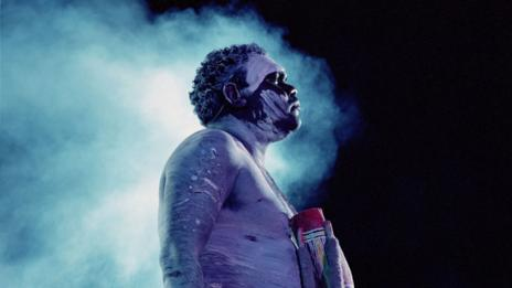 Aboriginal performer (Getty Images)