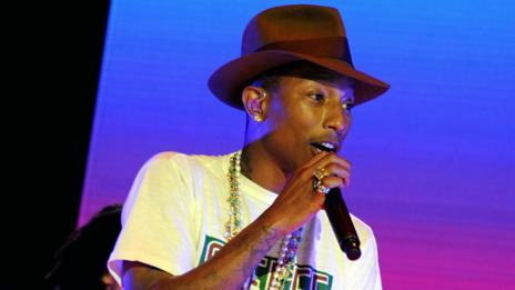 Musician Pharrell Williams claims his synaesthesia aids his creativity (Getty Images)