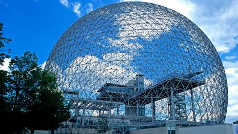 The biosphere for the 1967 World Expo (David Muenker / Alamy)