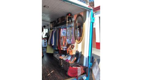 Fashion truck interior (Joanne Griffith)