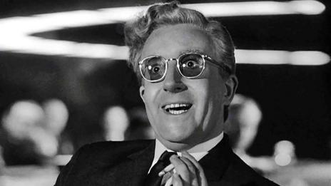 Peter Sellers in Dr Strangelove
