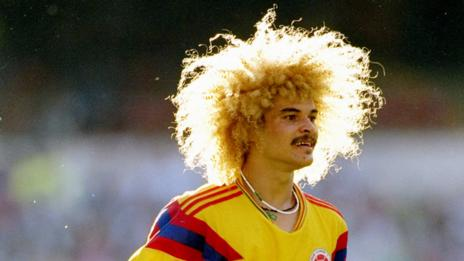 Carlos Valderrama (David Cannon /Allsport)