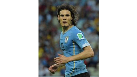 Edinson Cavani (Gabriel Bouys/AFP/Getty Images)