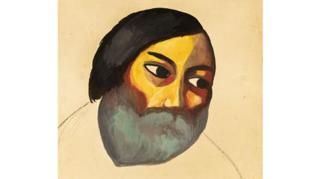 Head Of a Peasant by Kazmir Malevich (Courtesy of Sotheby's)