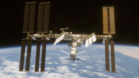 (STS-119 Shuttle Crew/Nasa)