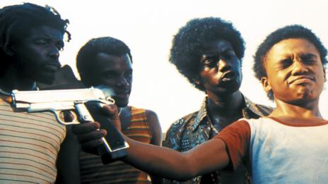 A child is forced to kill another child in City of God (Miramax/Lionsgate)