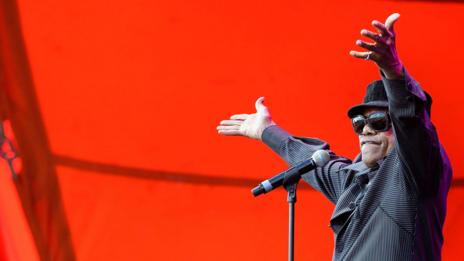 Bobby Womack at the Roskilde Festival, 2013 (Getty Images)