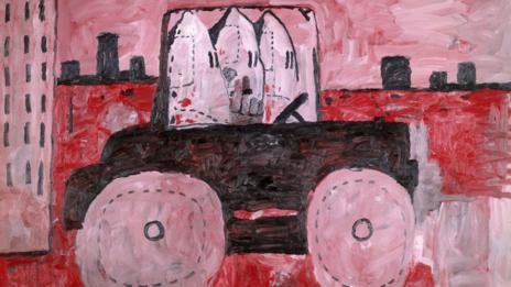 City Limits, 1969, Philip Guston (The Estate of Philip Guston)