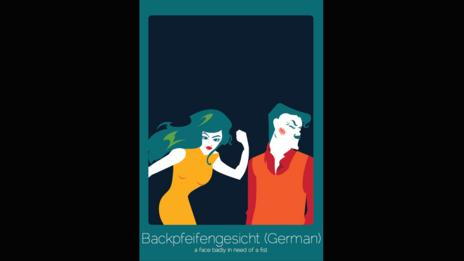 Backpfeifengesicht (German)